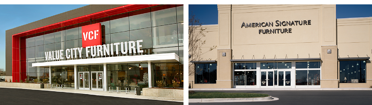 Value City Furniture American Signature Retail S And Showrooms