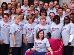 Value City Furniture – American Signature Furniture support the Susan G. Komen Race for the Cure