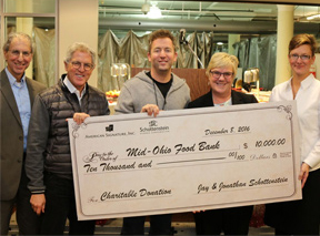 Value City Furniture – American Signature Furniture support the Mid-Ohio Food Bank
