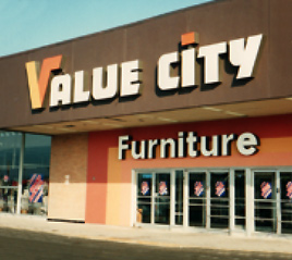 Value City Furniture store 1962